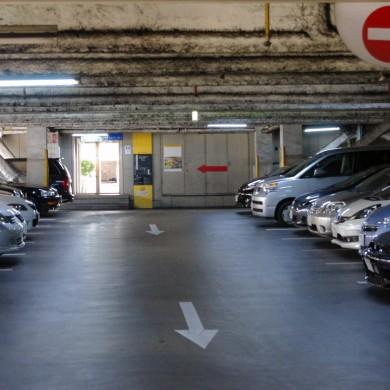 県央地区最大級の駐車場「410台」!