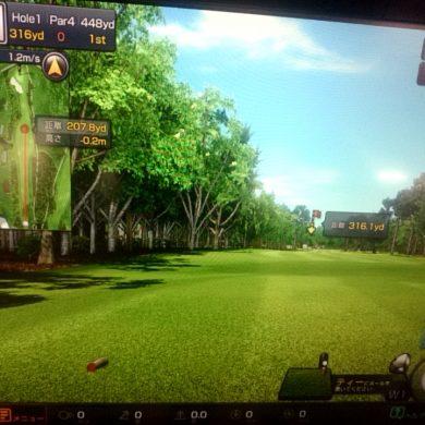 【ビジターの方向け】ゴルフシミュレーターの感想
