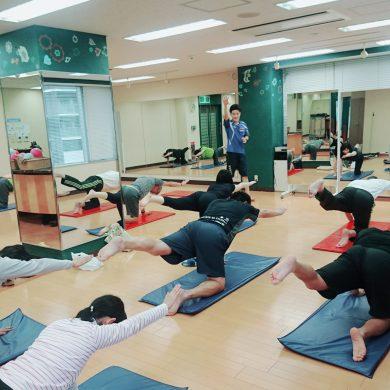 10月の体幹トレーニング風景・キャンペーン終了のお知らせ
